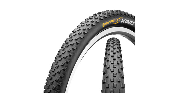 "Continental X-King - Cubiertas - 27,5"", ProTection, flexible negro"
